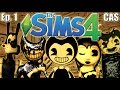 The Sims 4 Bendy And The Ink Machine Ep 1 Create A Sim House Build mp3
