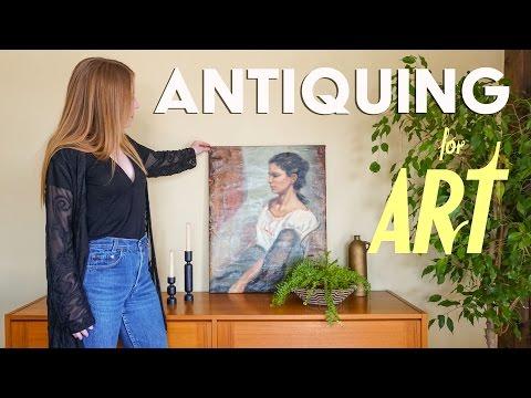 My Antique Painting Rescue & Haul // Sarah Neylan