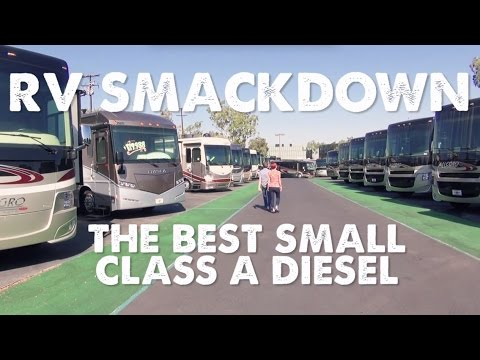 RV Smackdown - Best Small Class A Diesel Pusher Motorhome - YouTube