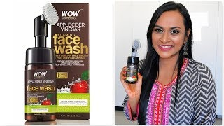 WOW Apple Cider Vinegar Foaming Face Wash Tamil Review | CheezzMakeup