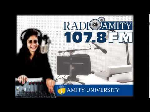Radio Amity Buzz @ Amity Show with Deakin University Students