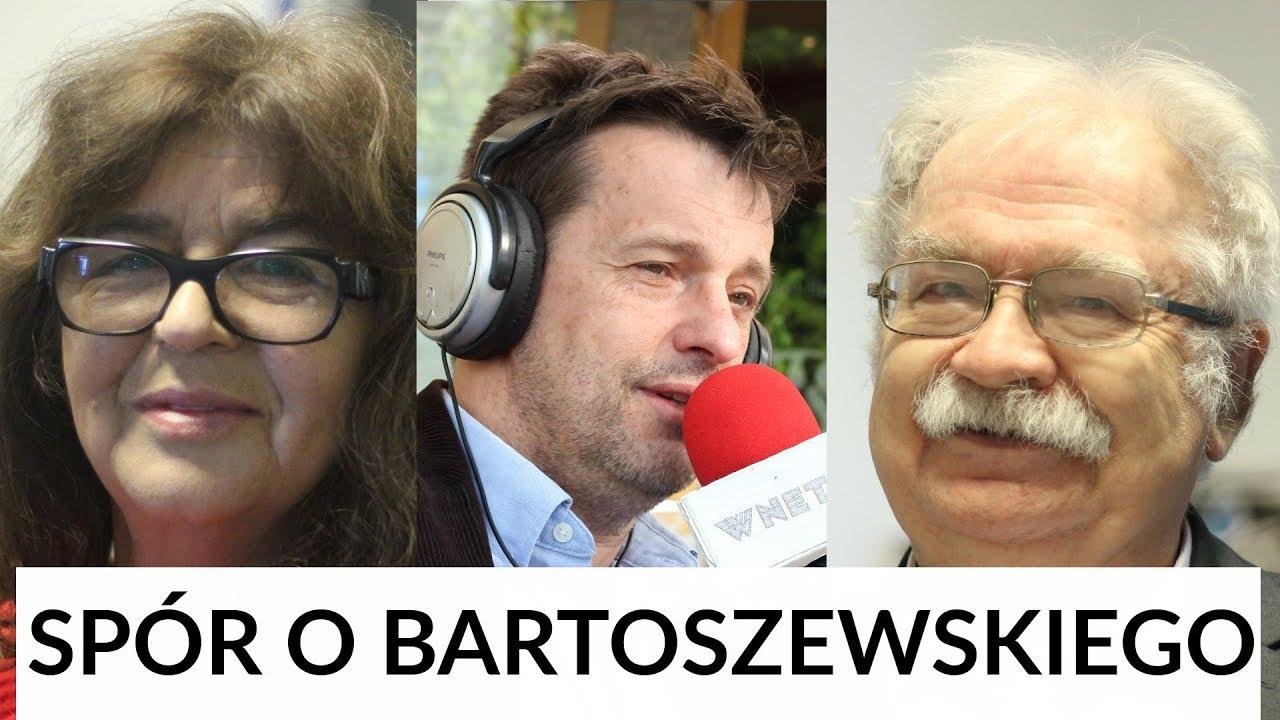 Spór o Bartoszewskiego: prof. Jerzy Robert Nowak i dr Ewa Kurek u Gadowskiego
