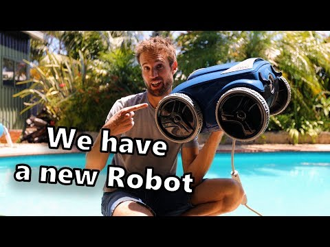 Are robotic pool cleaners worth it? Unboxing- Polaris 9550/ Zodiac VX55- Vlog