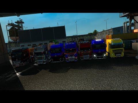 12/X Доставка Негабаритов по Euro Truck Simulator 2 с MEGA TRANS