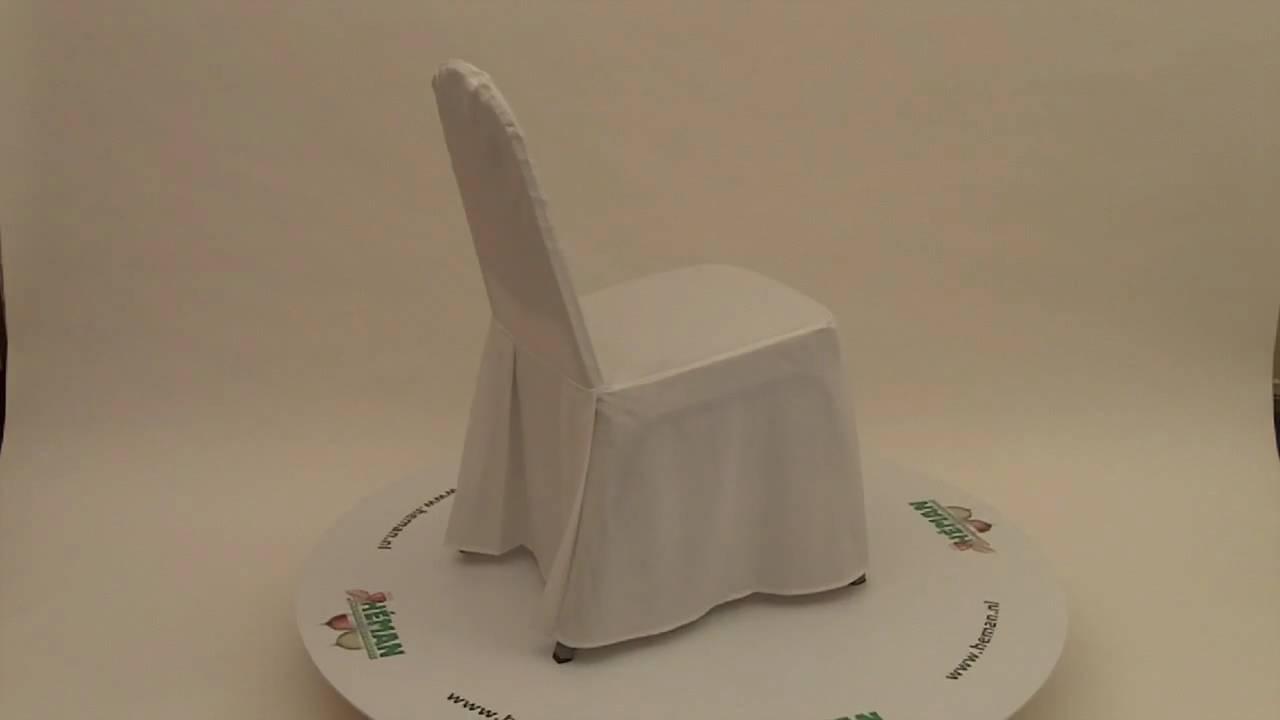Patroon Stoelhoezen Eetkamerstoelen.Stoelhoes Wit Voor Azuro Carbonno Robino Heman 8141