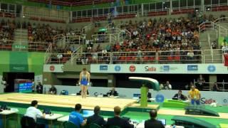 RADIVILOV Igor (UKR) - 2016 Olympic Test Event, Rio (BRA) - Apparatus Final Vault 1
