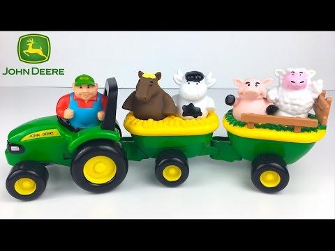 animal sound hay ride john deere ein farmer ein traktor. Black Bedroom Furniture Sets. Home Design Ideas