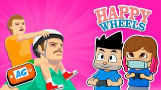 VELOZ en HAPPY WHEELS  mi Patinete ELECTRICO se supera