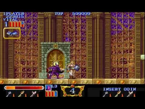 Arcade Longplay [380] Magic Sword - Heroic Fantasy
