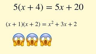 Algebra | expanding brackets