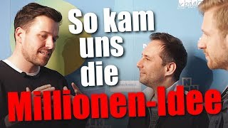 Mit 3.500 Euro Startkapital zum Millionen-Business – Vlog bei Startup Day'N'Nite // Mission Money