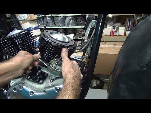 1965 panhead #152 74ci flh motor rebuild and bike repair harley by tatro machine