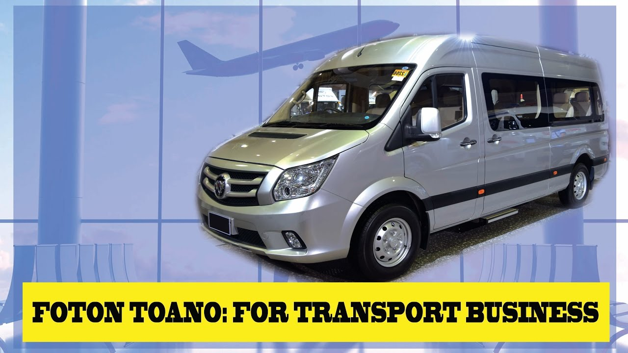 Foton Toano Best Business Vehicle Investment Philippines Youtube