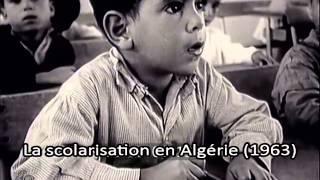 La scolarisation en Algérie (1963)