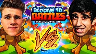 BLOONS TD BATTLES vs LACHLAN