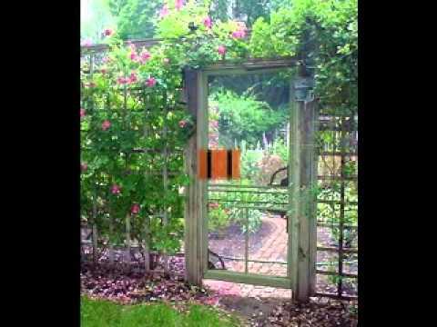 how to make a garden gate youtube