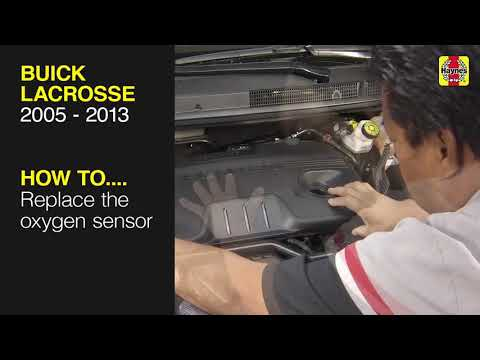 Buick LaCrosse (2005 – 2013) – Replace the oxygen sensor