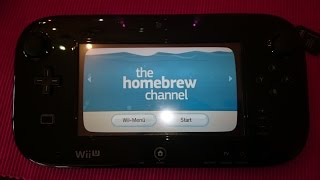 How to Install the Homebrew Channel (HBC) on WII U [WORKS 2017!!] -GERMAN-