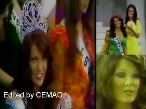 Kerry Anne Wells ( Australia ), Miss Universe 1972 - Crowning Moment