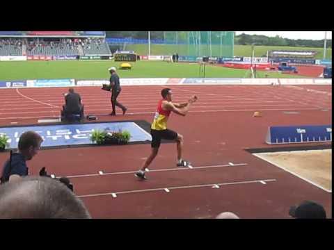 Lawrence Davis Triple Jump British Championships