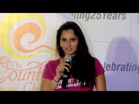 Country CLub 25 years | Mr. Rajeev Reddy's and Sania Mirza's Speech At Country Club India Ltd