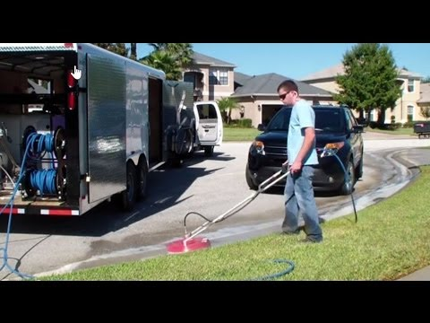 Sidewinder Surface Cleaner Pressure Cleaning Trough