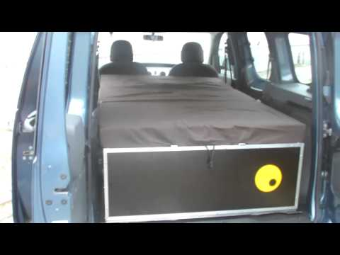 dacia dokker test mit ququq campingbox youtube. Black Bedroom Furniture Sets. Home Design Ideas