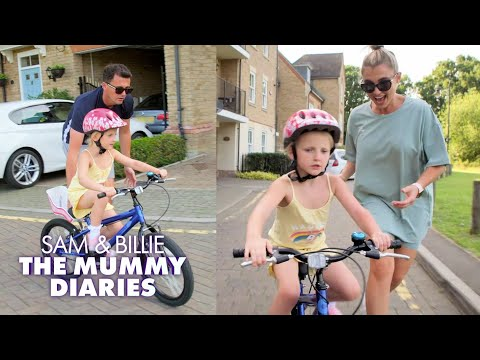 Nelly Learns How to Ride a Bike 🚴♀️  | The Mummy Diaries