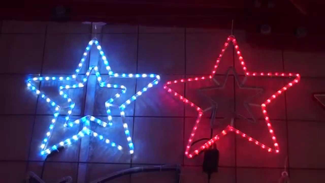 Christmas lighting show display christmas rope light shimmering christmas lighting show display christmas rope light shimmering animated flashing star motif youtube aloadofball Gallery