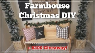 CHRISTMAS DIY TREE BOX + GIVEAWAY | Momma From Scratch