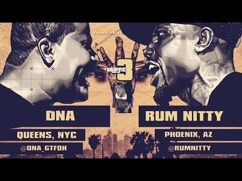 DNA VS RUM NITTY SMACK/ URL RAP BATTLE