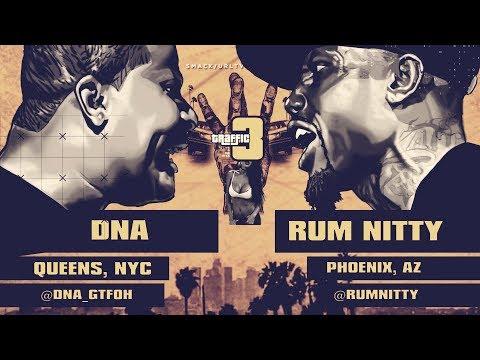 DNA VS RUM NITTY SMACK/ URL RAP BATTLE | URLTV