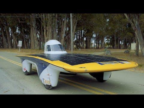 "Berkeley's solar car ""Zephyr"" could drive until the sun dies"