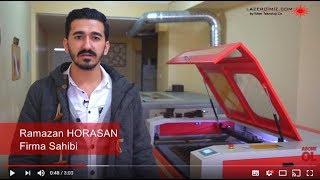 Gritty Karbon Lazer Makinesi / 150 Watt / 120x90