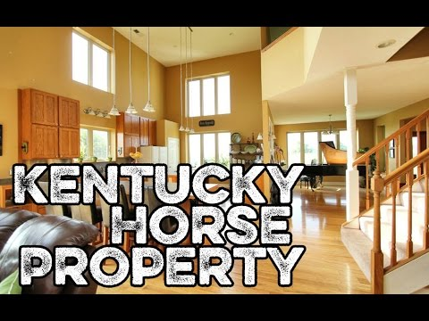 Kentucky Horse Properties for sale - Passive Solar house horse barn w apartment