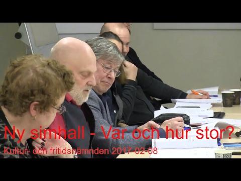 2017-02-08 Kultur- och fritidsnämnden - Ny simhall i Haninge