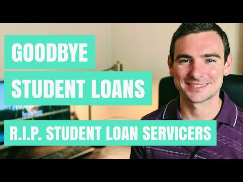 Goodbye Student Loans! | Student Loan Servicers Disappearing In December | Bye Great Lakes & Nelnet