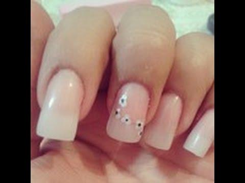 mantén tus uñas naturales largas con acrílico