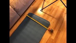 Wakeman Outdoors Super Light Luxury Foam Sleeping Bed Mat Mattress Camp Dark Blue M470014 6415897
