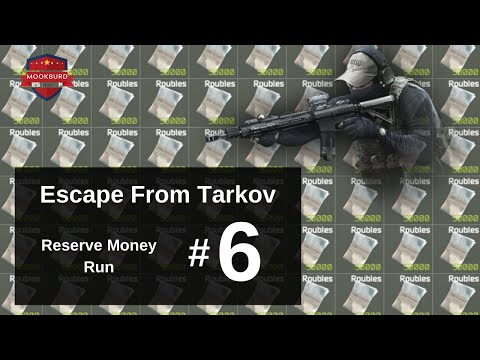 Escape From Tarkov Money Run on Reserve #6 | AK Farm & Plenty of Scavi Bois