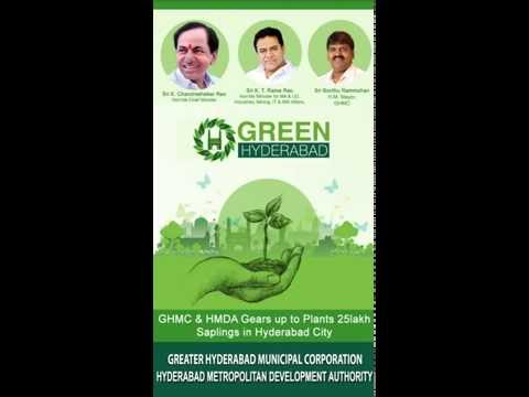Green Hyderabad Mobile App Help Video