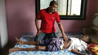 How to give treatment to Paralysis Patient