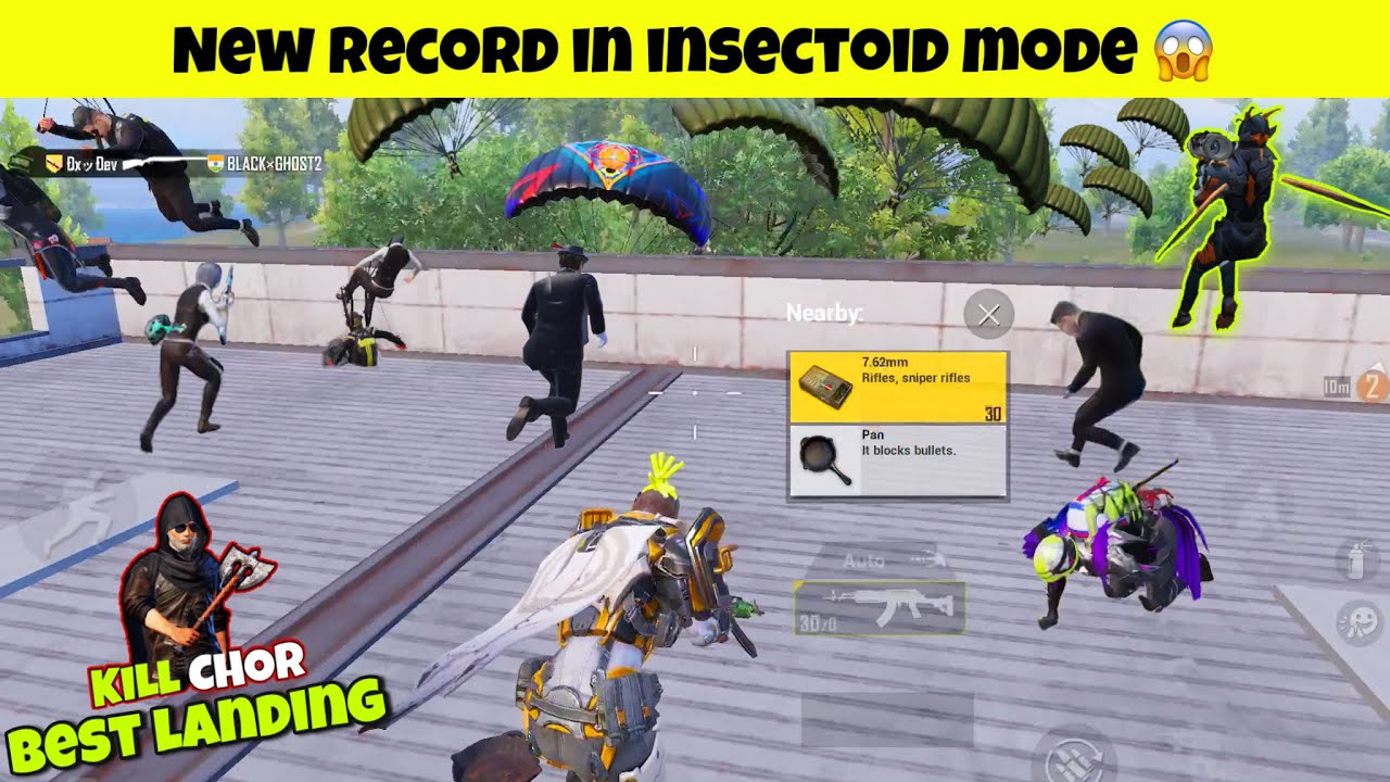 🔥 NEW RECORD IN TRAVERSE INSECTOID MODE | PUBG MOBILE GAMEPLAY