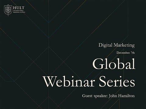 Digital Marketing Webinar with John Hamilton