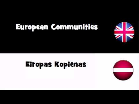 TRANSLATE IN 20 LANGUAGES = European Communities