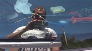 Работа электропривода замка багажника Лада Калина Универсал