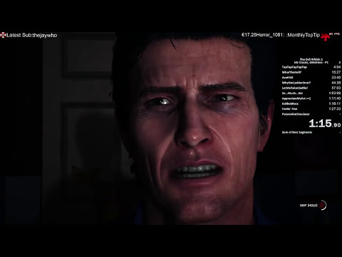 The Evil Within 2 Speedrun Classic New Game 2:34:42 World Record