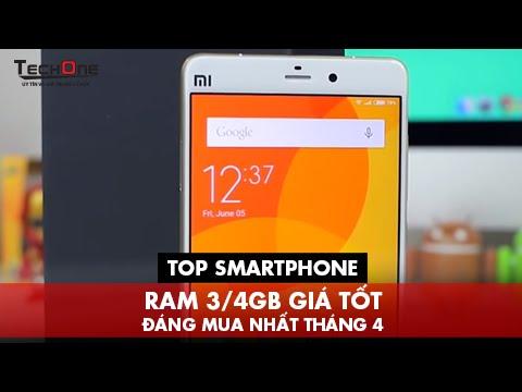 Top Smartphone Ram 3/4GB Giá Tốt Đáng Mua Tháng 4
