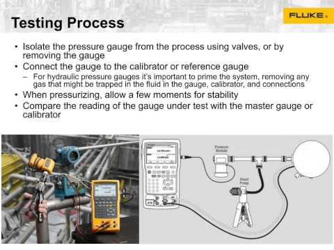Fluke Test & Measurement Solutions for Oil & Gas Applications