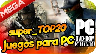 descarga JUEGOS para PC Full Completos//Top20 [Subidos a MEGA] Pocos y Medios Requisitos HD